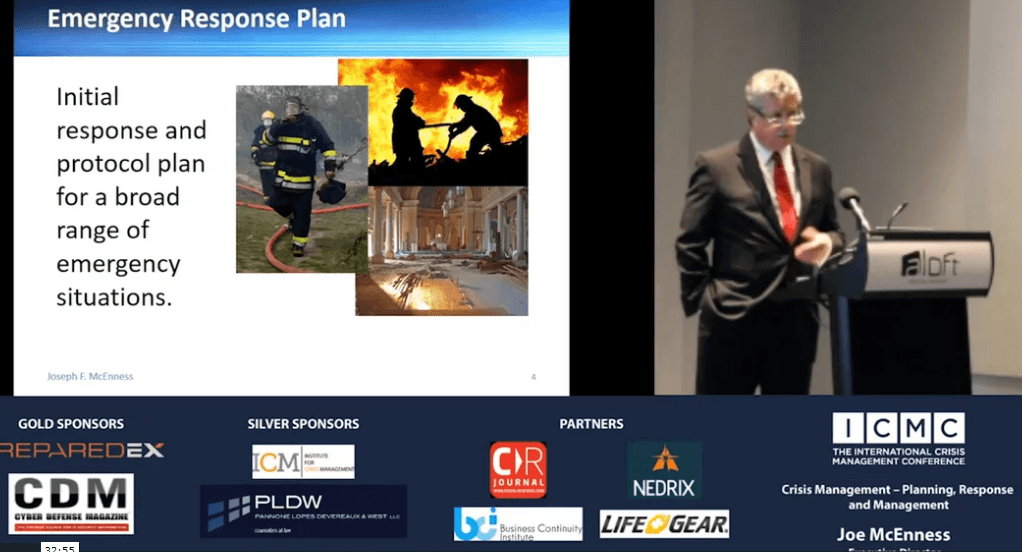 Crisis Management – Planning, Response and Management