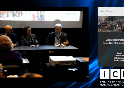 Panel Discussion – Crisis Leadership Lessons from the Chilean Mine Rescue