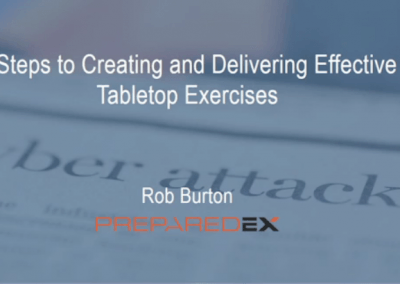 5 Steps to Creating Effective Tabletop Exercises