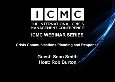 Crisis Communications Planning and Response – An Interview with Sean Smith