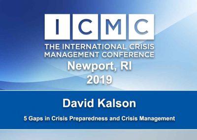 5 Gaps in Crisis Preparedness and Crisis Management