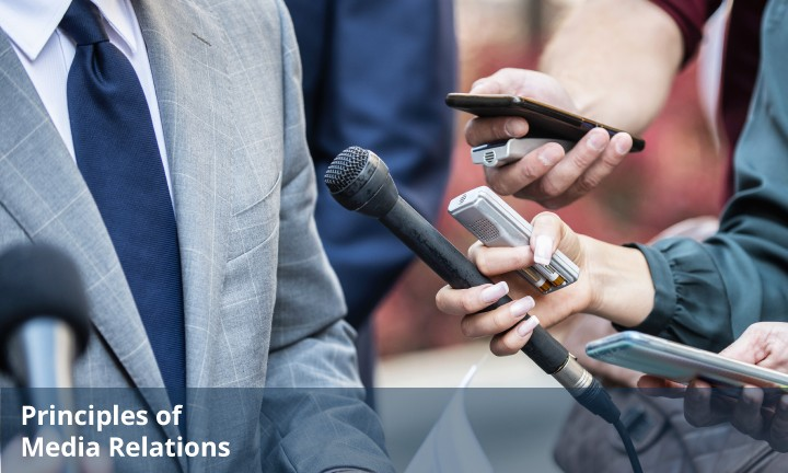 New Course! The Principles of Media Relations