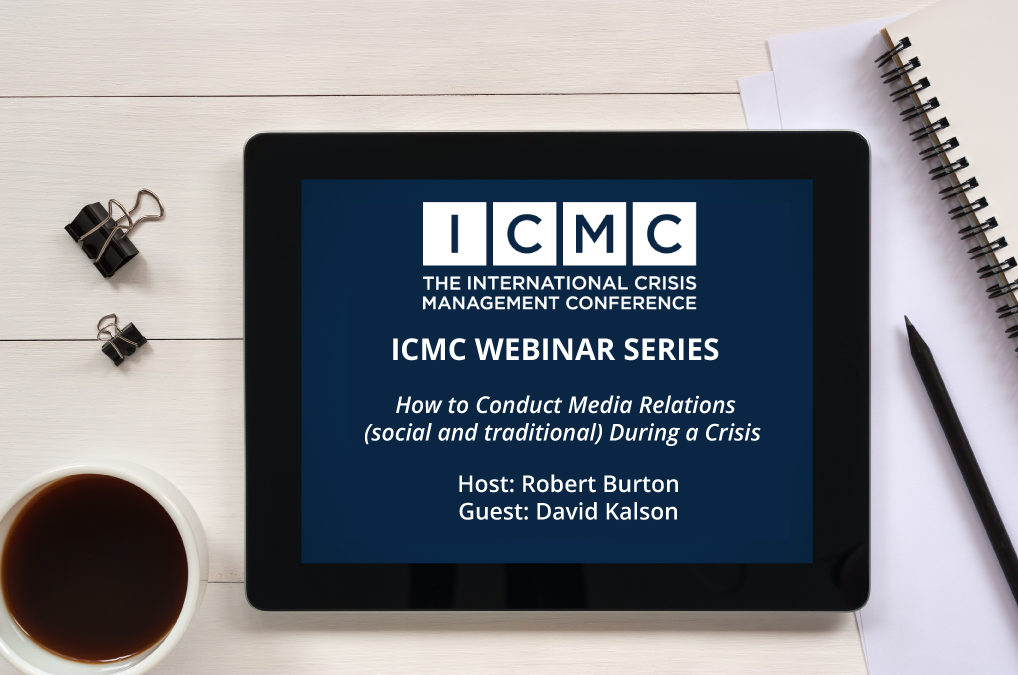 Webinar Video Clip: How to Conduct Media Relations During a Crisis